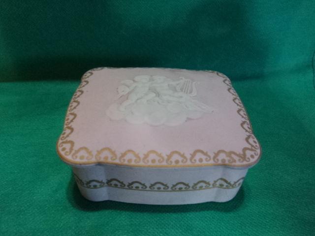 old  porcelain Trinket box Camille tharaud  -limoges france - $58.41