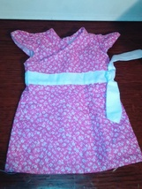 10 and 11 inch baby doll dresses - $6.50