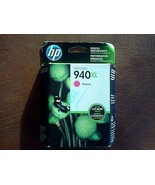 HP 940XL Magenta Ink Cartridge C4908AN Genuine New - $12.23