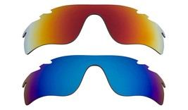 New Replacement Lens Oakley Vented Radar Lock   Red Blue - $32.48