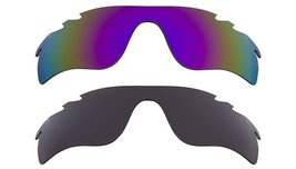 New Replacement Lens Oakley VENTED RADAR LOCK - Grey Purple - $32.48
