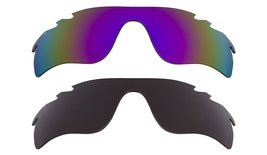 New Replacement Lens Oakley Vented Radar Lock   Black Purple - $32.48