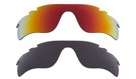 New Replacement Lens Oakley VENTED RADAR LOCK - Grey Red - $32.48