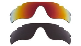 New Replacement Lens Oakley Vented Radar Lock   Black Red - $32.48