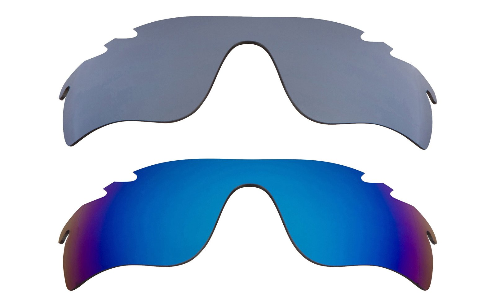 Primary image for New Replacement Lens Oakley VENTED RADAR LOCK - Black Blue