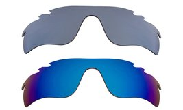 New Replacement Lens Oakley Vented Radar Lock   Black Blue - $32.48
