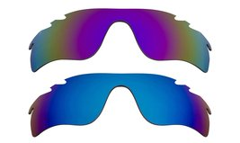 New Replacement Lens Oakley Vented Radar Lock   Purple Blue - $32.48