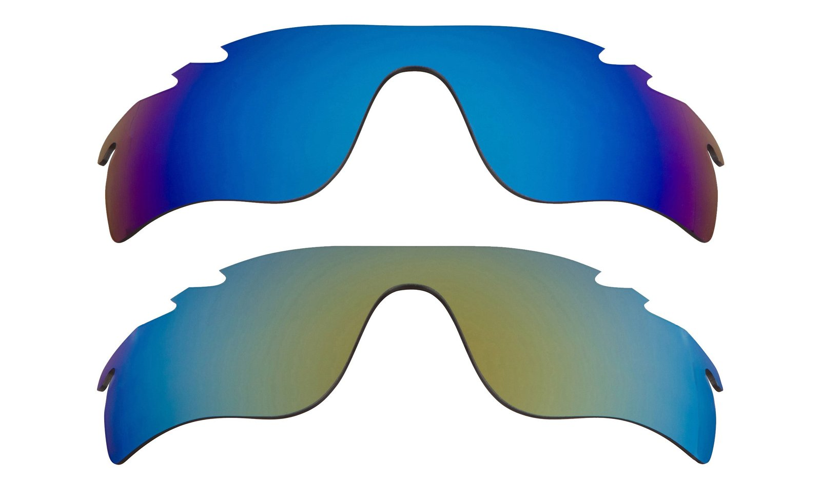 Primary image for New Replacement Lens Oakley VENTED RADAR LOCK - Blue Green