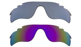 New Replacement Lens Oakley Vented Radar Lock   Purple Silver - $32.48