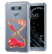 HTC One A9 Case,Creative Handmade Wine Sandglass Dynamic Liquid Glitter Bling Sp - $12.86