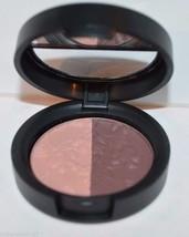 2 Laura Geller baked Impressions eye shadow duo Fine Wine .106 oz pink B... - $9.99