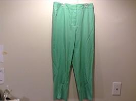 Used Good Condition Seafoam Green Slacks TSE Brand Size 8 Cotton Blend