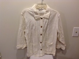 Used Good Condition Cream 100% Cotton Button Up Royal Robbins XL Long Sleeve