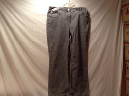 Used Great Condition Slate Gray Concastero Sport Cotton Blend Jeans Size 12
