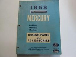 1958 FORD MERCURY Parklane Montclair Monterey Chassis Parts & Accessorie... - $98.95