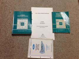 1991 FORD CARGO TRUCK Service Shop Repair Manual Set W EWD & Bulletin + ... - $118.75