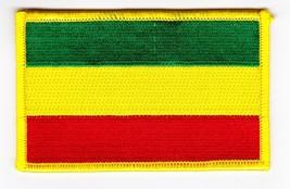 EMBROIDERED 2.5w x 4L REGGAE RASTA SEW/IRON ON PATCH FLAG T-SHIRT BOB MA... - $3.99