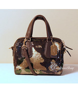 NEW Coach Mini Surrey Satchel Camo sequins Bag ... - $645.00