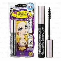 KISS ME Heroine Make Volume&Curl Mascara Waterproof 01 Black-Super water... - $26.72
