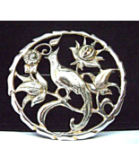 Vintage Sterling Bird of Paradise Brooch Bond B... - $29.00
