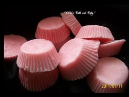 strawberry reeses candy valentine soaps. set of 10,  valentine soap, FRE... - $4.50