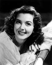 Ann Rutherford Resting On Chair Back Dimple Smile Portrait 16X20 Canvas Giclee - $69.99
