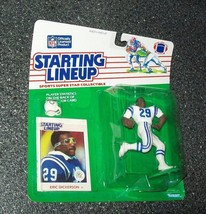 Eric Dickerson INDIANAPOLIS COLTS 1988 Kenner Starting Lineup football f... - $13.86