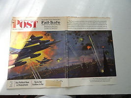 Saturday Evening Post Magazine Back Issue October 13, 1962 Complete Fail... - $6.99