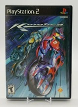 Kinetica (Sony PlayStation 2, PS2 2001) Complete in Box Futuristic Cycle Racing - $15.72