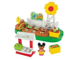 Fisher-Price Little People Growing Garden and Farm Stand Playset for Kid... - $22.24
