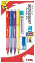 Pentel Twist-Erase EXPRESS Mechanical Pencil, 0.7mm, Assorted Fashion Ba... - $12.01