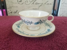 Theodore Haviland New York Clinton Footed Cup And Saucer - $14.35