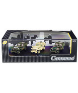 1/4 Ton Military Vehicles Set of 3 pieces in Display Showcase 1/72 Dieca... - $19.54