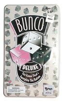 Bunco Deluxe Game In Tin - New Sealed - $14.99