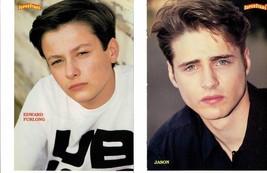 Edward Furlong Jason Priestley teen magazine pinup clipping Pecker Terminator 2