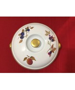 """Royal Worcester EVESHAM GOLD 8 1/2"""" Round Covered Casserole Dish - 2 1/2 Qt - $65.00"""