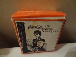 Older Coca Cola Old Fashioned Bottle Opener Nostalgia New N Box & Screws - $11.99