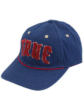 True Religion Men's Embroidered Chenille Logo Sports Hat Baseball Strapback Cap image 2