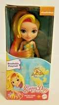 "Nickelodeon Sunny Day Bath Time Doll 6"" Brand New with Brushable Ponytail Mattel - $11.64"
