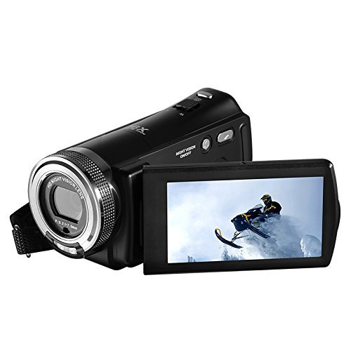 Ordro Full HD Digital Video Camera with Special IR Night Vision 3Inch LCD Screen for sale  USA