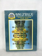 """Bits and Pieces Gold Seal Puzzle 550 Piece  """"Museum of Archeology Seville Spain"""" - $14.24"""