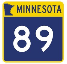 Minnesota State Highway 89 Sticker Decal R4930 Highway Route Sign - $1.45+