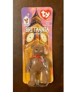 "TY Britannia Beanie Baby ""The Bear"" Rare with Two tag Errors.  1 of 4,000. - $148.45"