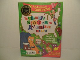The Scrambled States of America Game 10th Anniversary Deluxe Edition, Bo... - $18.70
