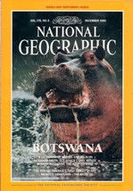 National Geographic Magazine December 1990 - $3.99