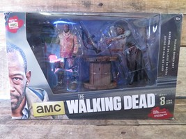 Walking Dead Morgan Impaled Walker Figuras de Acción Cofre Nuevo Mcfarlane - $11.98