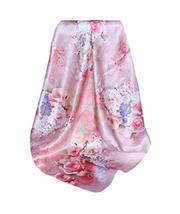 PANDA SUPERSTORE Blossom Silk Scarf Shawl Women Scarves Elegant Scarves