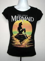 Womens Juniors Disney Little Mermaid  Ariel t shirt large sunset  ocean ... - $22.72