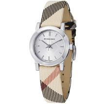 Burberry BU9212 Check Small Swiss Made Womens Watch - $262.81 CAD