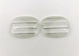 1991-1996 Chevy Corvette GM C4 Rear Tail Light Lens Clear 91 92 93 94 95 96